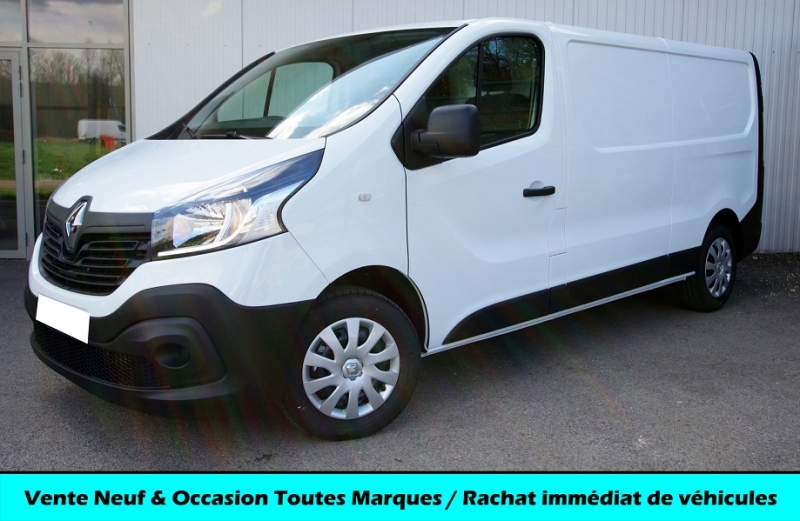 Renault TRAFIC III L2H1 1300 1.6 DCI 125 ENERGY GRAND CONFORT Diesel BLANC GLACIER Neuf à vendre