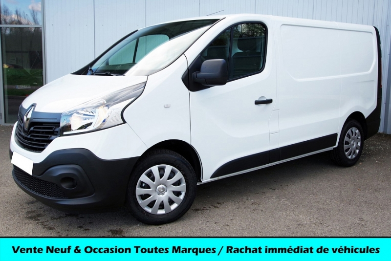 Renault TRAFIC III L1H1 1200 1.6 DCI 125 ENERGY GRAND CONFORT Diesel BLANC GLACIER Neuf à vendre