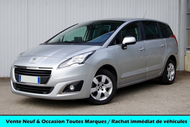 Peugeot 5008 1.6 BLUEHDI 120 BUSINESS PACK EAT6 Diesel GRIS Occasion à vendre