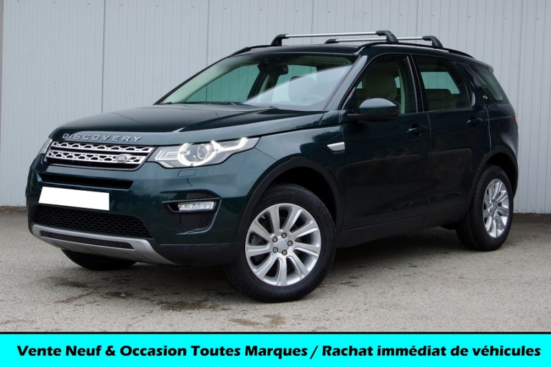Land-Rover DISCOVERY SPORT 2.0 TD4 150CH AWD HSE MARK II 7PL Diesel VERT Occasion à vendre