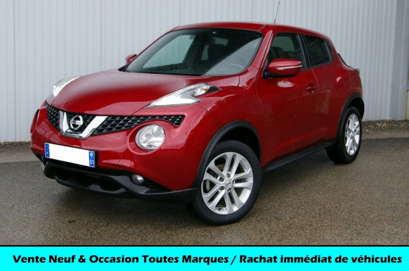 Nissan JUKE 1.5 DCI 110 N-CONNECTA Diesel ROUGE CLAIR Occasion à vendre