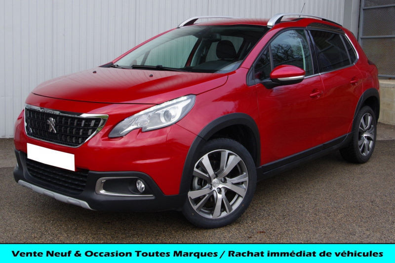 Peugeot 2008 1.5 BLUEHDI 100 E6.C ALLURE S&S Diesel ROUGE ULTIMAT Occasion à vendre