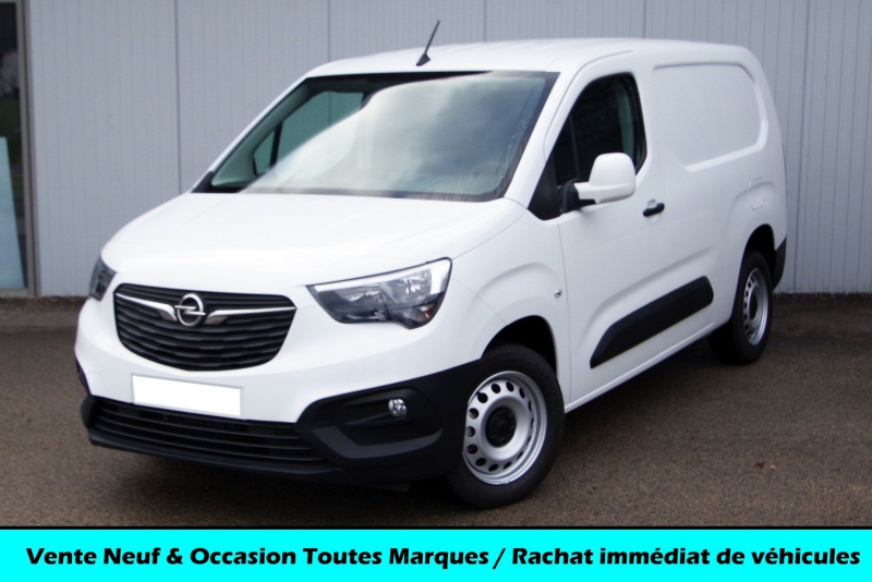 Opel COMBO CARGO L2H1 950KG 1.6 100CH S&S EDITION Diesel BLANC Neuf à vendre