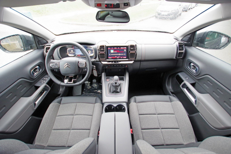 Photo 4 de l'offre de CITROEN C5 AIRCROSS BLUEHDI 130 S&S FEEL à 26990€ chez ACCEL' AUTO